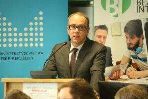 Náměstek ministra vnitra pro řízení sekce informačních a komunikačních technologií Jaroslav Strouhal